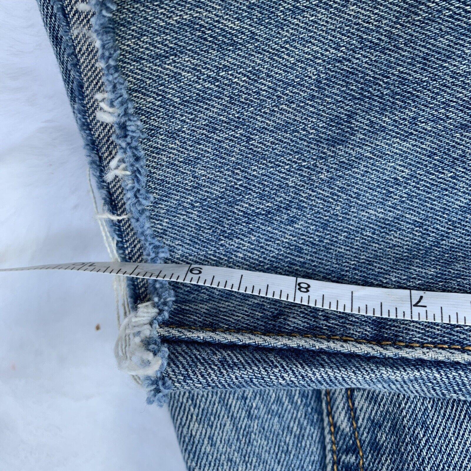 Vintage 90s LEVI'S 501 distressed Cut Off Shorts … - image 5