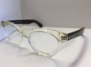 60cad1c52e NEW TOM FORD TF 5378 026 CLEAR BLACK EYEGLASSES AUTHENTIC RX FRAMES ...