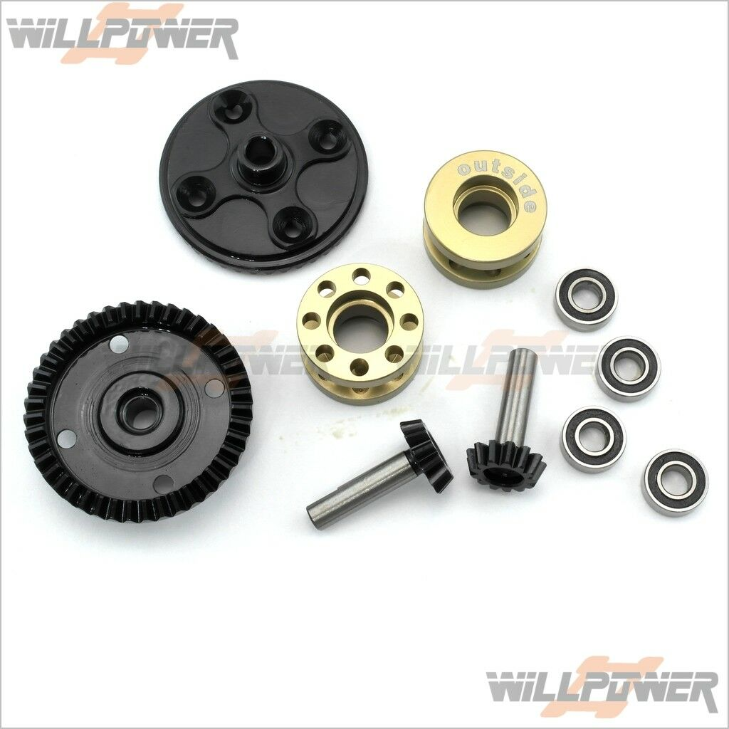 Lds Drive Gear conversión Paquete  swc -210055 S (rc-willpower) Sworkz S350