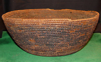 Antique North-East Indian Storage Basket Likely Late 1800/'s
