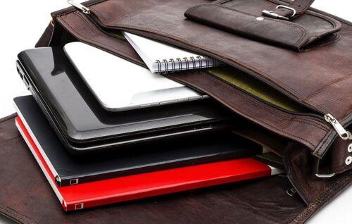 portable world Sacs en pour hommessac Bag de de d'ordinateur messager Handmade 18 cuir poBriefcase Laptop ZkPXiwOuT