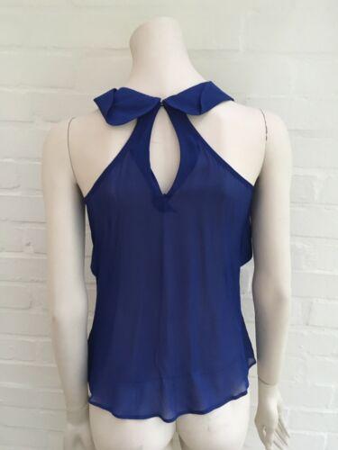 Silk 40 Us I 4 Size Top Ruffled Ravishing 8 Blouse Zztrw1 Uk Etro FqRaZxT