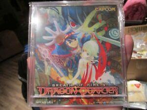 Breath-of-Fire-V-5-Dragon-Quarter-NFR-Mini-CD-case-calendar-plus-other-Capcom