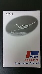 Piper Arrow IV information manual 761-730