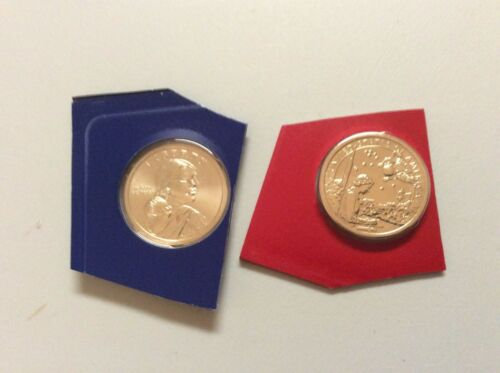 2019 Sac Sacagawea Dollars Native American P/&D from complete US Mint Set