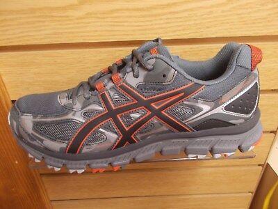 Asics T6K2N Herren Gel Haut ab 3 SchwarzGrau Trail Running Medium Breite Schuh   eBay