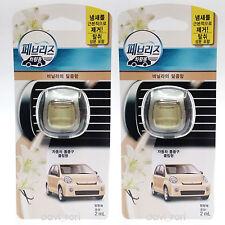 Febreze New Car Scent Vent Clips Air Freshener Sweetness Of Vanilla 2ml X 2EA