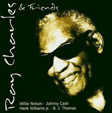 Ray Charles And friends (2000/04: Willie Nelson, Johnny Cash..) [CD]