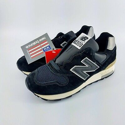 """the latest c485e 9c193 New Balance 1400 """"Made in USA"""" Running Shoes - Black/Silver - M1400BKS -  Size: 7 