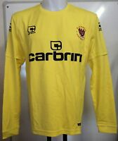 Blackpool 2009/10 Yellow Keepers Shirt By Carbrini Adults Size Small Brand