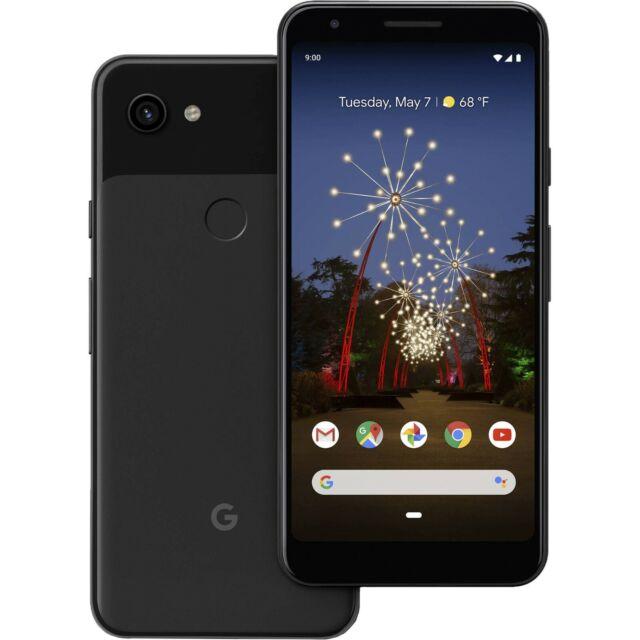 Google Pixel 3a XL 64GB Just Black GSM Unlocked G020C EZ024AED