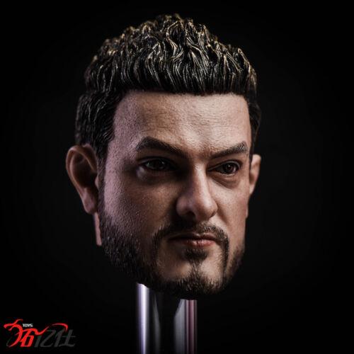 Tys Toys 1//6th Male Head Sculpt COS Indian Best Actor Fit Phicen TBleague Body