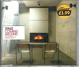 Travis-Coming-Around-CD-1-UK-3-Track-CD-Single-contains-video-for-song