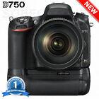 MB-D16 Replacement Battery Grip for Nikon D750 EN-EL15 DSLR Camera - 2 EN-EL15