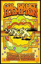 Col. Bruce Hampton 1999 Concert Poster