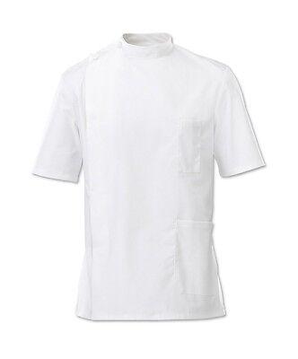 Hilfreich Male Nursing Tunic White - Alexandra - G86 - Healthcare, Nursing - Clearance Erfrischung