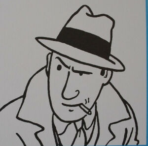 Herge-by-Tintin-Characters-10-3-Lithographs-Exlibris-2011