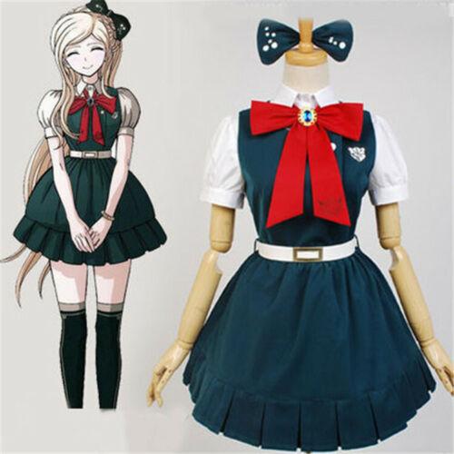 Super Danganronpa Dangan-Ronpa Sonia Nevermind Dress Suit Cosplay Costume
