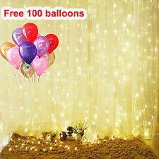 Sales!!!9.8ft 300 LED String light Fairy Light Curtain Decor Xmas warm white