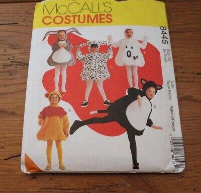 7854 UNCUT Vintage McCalls SEWING Pattern Halloween Costume Dracula Angel Ghost