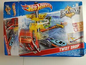 HOT-Wheels-Trick-Tracks-Twist-Goccia-Stunt-Set-veloce-spedizione-gratuita
