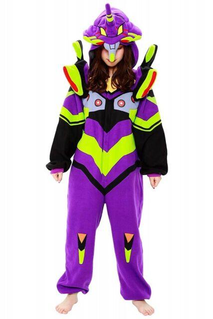 Sazac Evangelion First Machine Fleece Costume Cosplay Kigurumi Japan Anime EMS