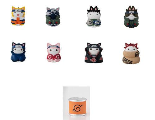 Cats Konoha Village Set Figure MEGAHOUSE Naruto Nyaruto
