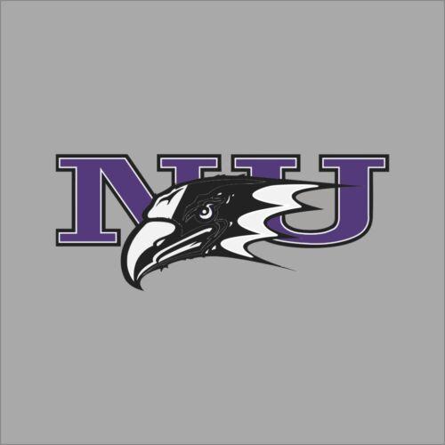 Niagara Purple Eagles NCAA College Vinyl Decal Sticker Car Window Wall