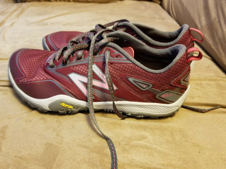 Size 8 Donna New balance vibram MINIM  running walking trail shoes vibram balance a4e83c