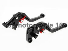 FXCNC For SUZUKI GSF650 2005 bandit gsf 600 00-04Black Short Brake Clutch lever
