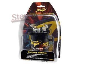 stinger sgp32 high current power relay battery isolator. Black Bedroom Furniture Sets. Home Design Ideas