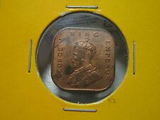 Strait settlement 1/2 cent (HALF CENT ) 1932 - AU-UNC