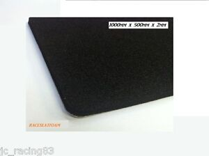 Image Is Loading Race Car Seat Padding Foam 2mm Thick 1000mm
