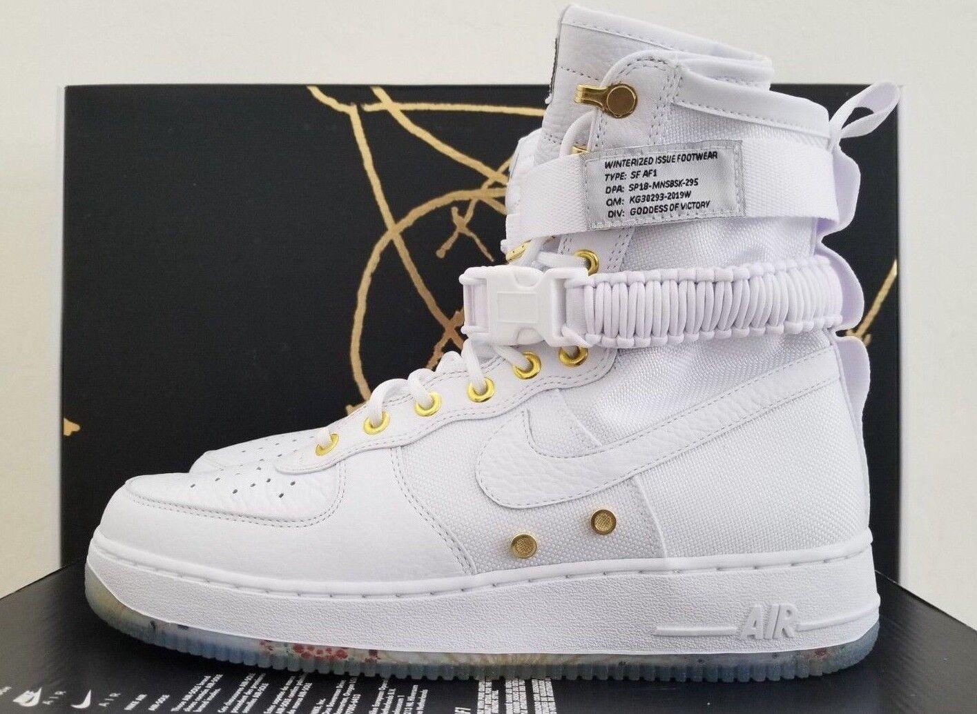 Nike Air Force 1 High CK4369 100 White Black  