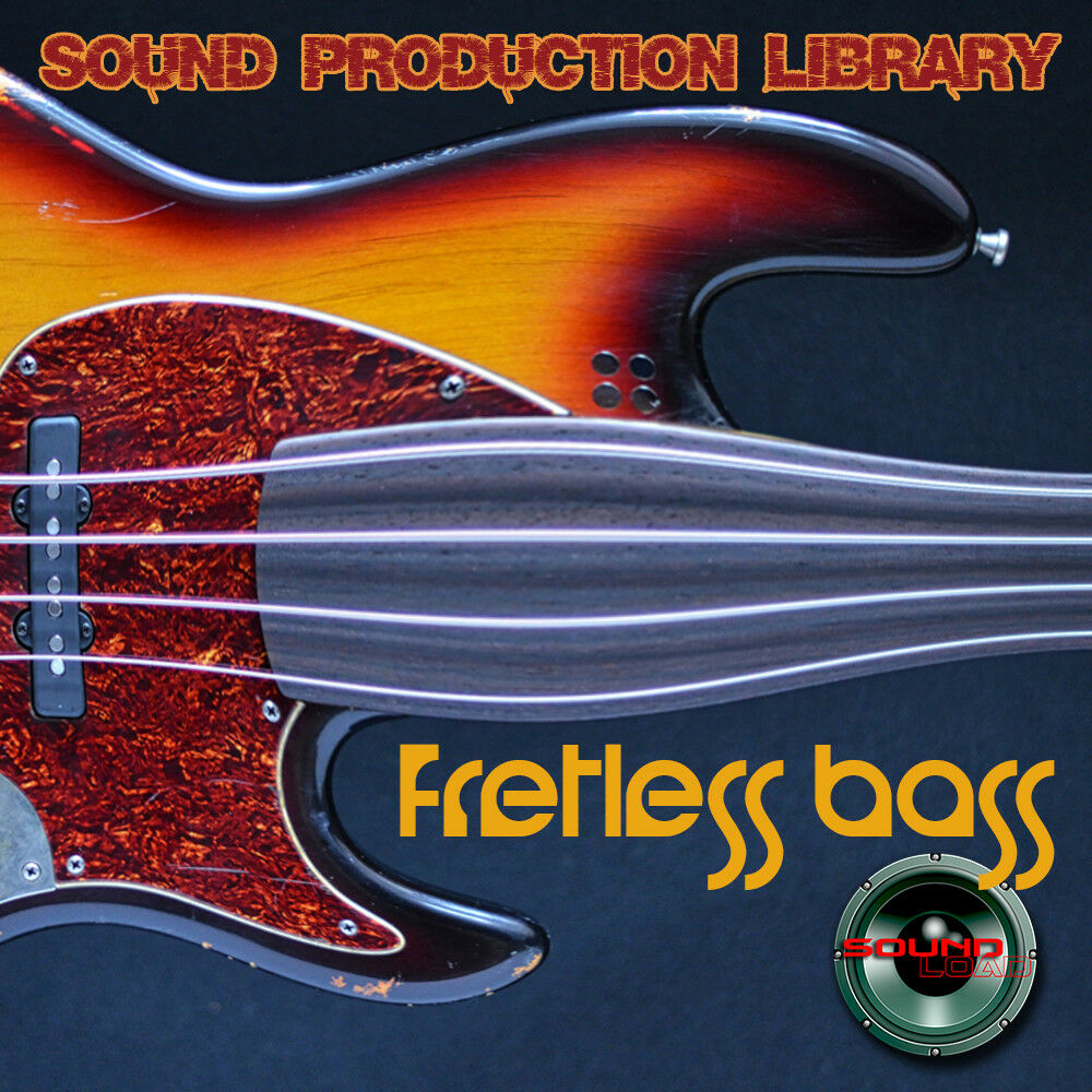 Fretless Bass Real HUGE Original Multi-Layer Studio Sam