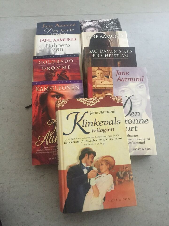 9 dejlige bøger af Jane Aamund