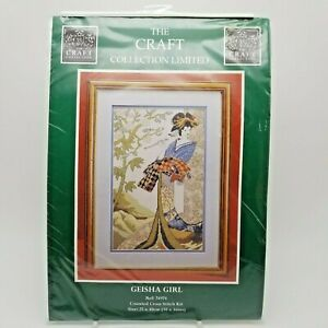 Counted-Cross-Stitch-Kit-Oriental-Japanese-Geisha-Girl-Magnolia-Tree-74974