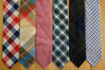 Check Silk Bow Ties NWOT Brooks Brothers Stripe