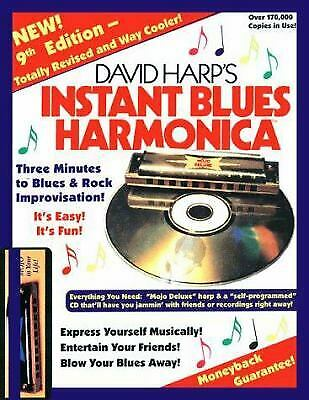 Instant Blues Harmonica by David Harp