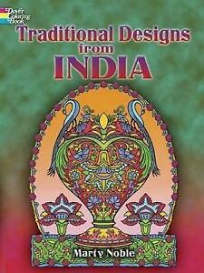 Details zu Traditional Designs from India (Dover Design Coloring Books),  Dover Publications