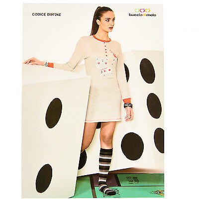 Camicia Da Notte Donna Invernale In Caldo Cotone Buccia Di Mela 6dicam018 Delicious In Taste Other Whlsl Women's Clothing Clothing, Shoes & Accessories