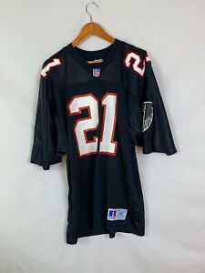 new product 42932 db63a Details about Vintage Deion Sanders Atlanta Falcons NFL jersey Russell Size  46