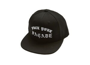 4a31277edaf Image is loading LORDS-F-k-Your-Facade-Snapback-Match-w-Chrome-