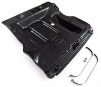 55-57 Chevy Belair 210 150 Convertible 1-pc Trunk Floor Assembly W/ Straps