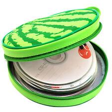 1×24 Discs Portable CD DVD Wallet Holder Bag Case Album Organizer Media Storage