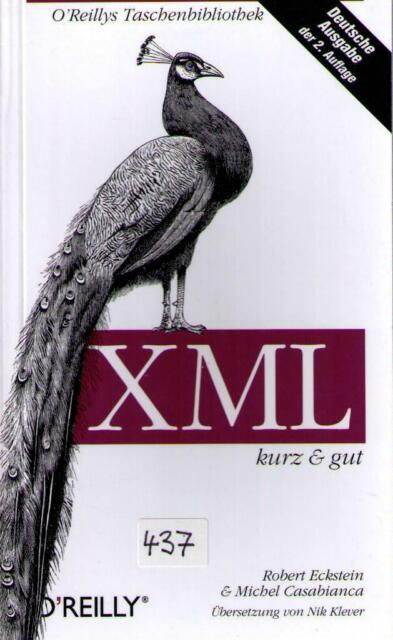 """Fachbuch """"XML"""" kurz & gut, O'Reillys Verlag (_437)"""
