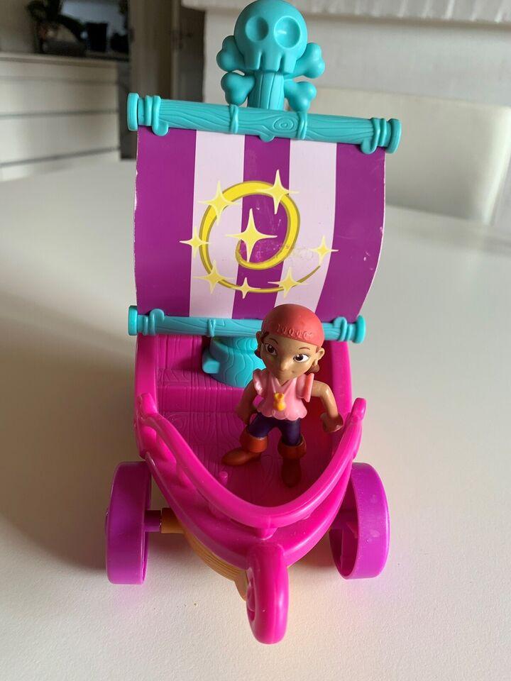 Andet legetøj, Båd Jack Pirate, Mattel/Disney