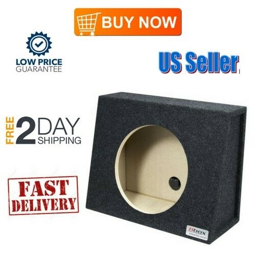 6x9 Speaker Box 6 9 Bass Box Sealed Divided Enclosure Ram Truck Carpeted