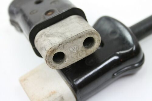 ancienne Prise de l/'appareil pour prise Câble Bakélite prise