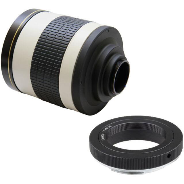 Jintu 500mm Mirror Lens +T2  Mounter for Sony NEX-C3 NEX-F3 NEX-5 NEX-5N NEX-7